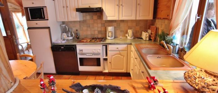 La cuisine pratique et fonctionnelle.