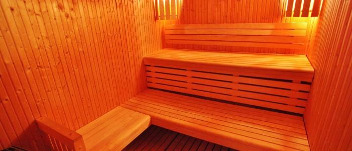 La Colombe vous offre l'accès au sauna le tout sans sortir du chalet.