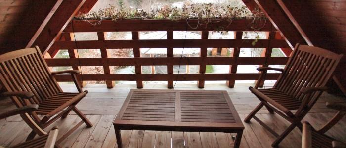Pour 3 de nos chambres ,vous aurez la possibilité d'admirer nos extérieur depuis une terrasse.